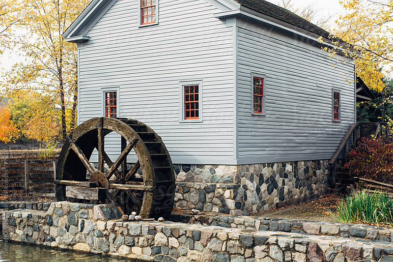 Old gristmill by Gabriel (Gabi) Bucataru for Stocksy United