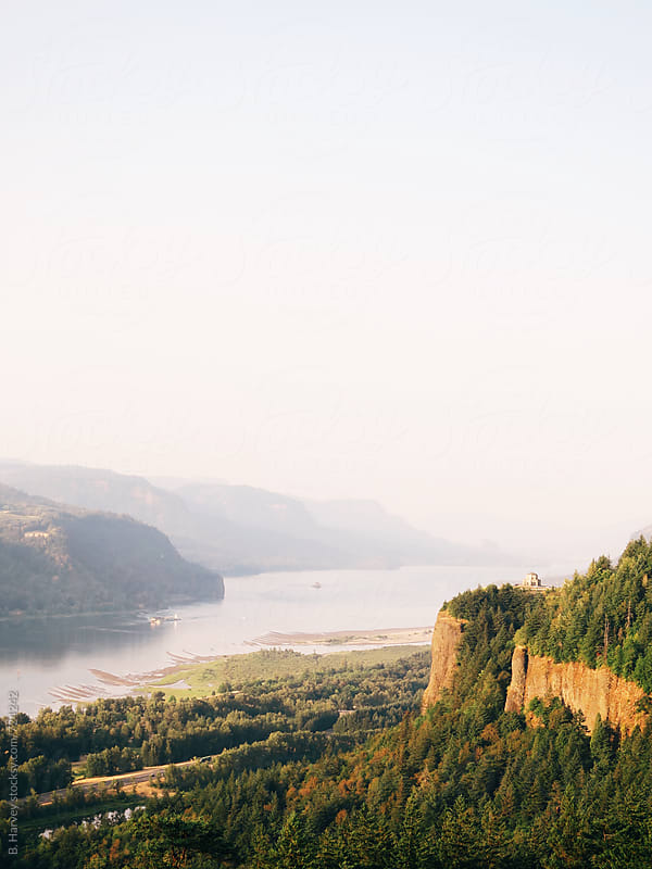 Beautiful Columbia River Gorge by B. Harvey for Stocksy United