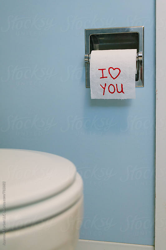 Toilet Paper Love by Raymond Forbes LLC for Stocksy United