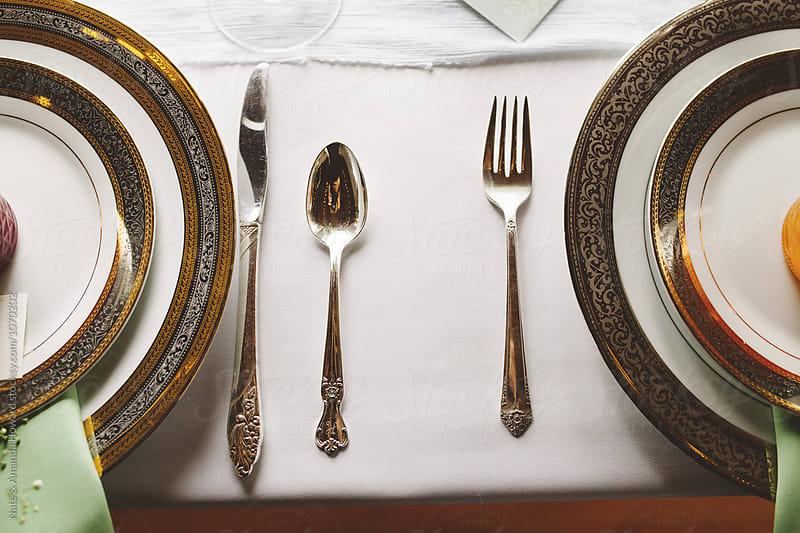 Table Settings by Nate & Amanda Howard for Stocksy United