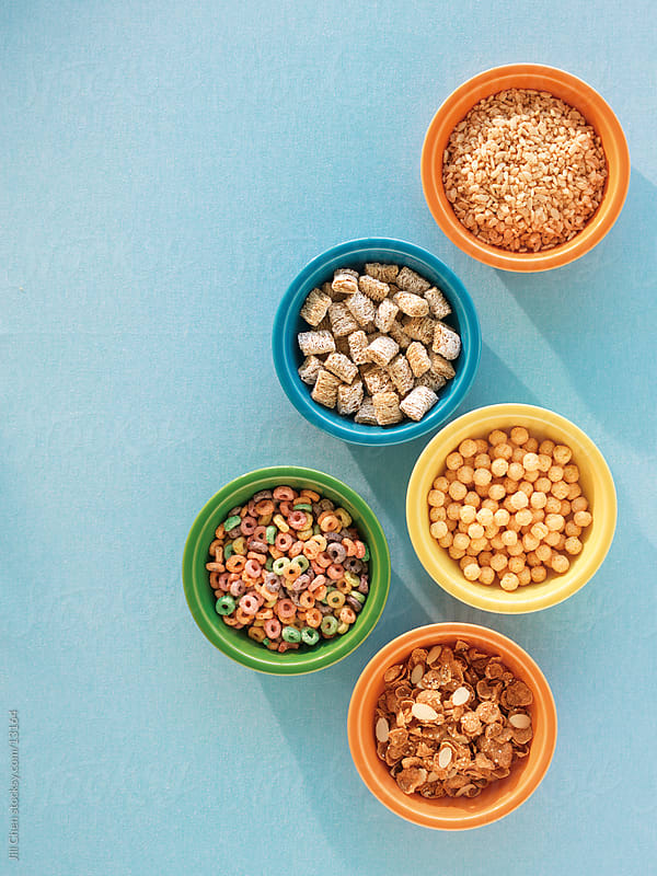 Assorted Cereal by Jill Chen for Stocksy United