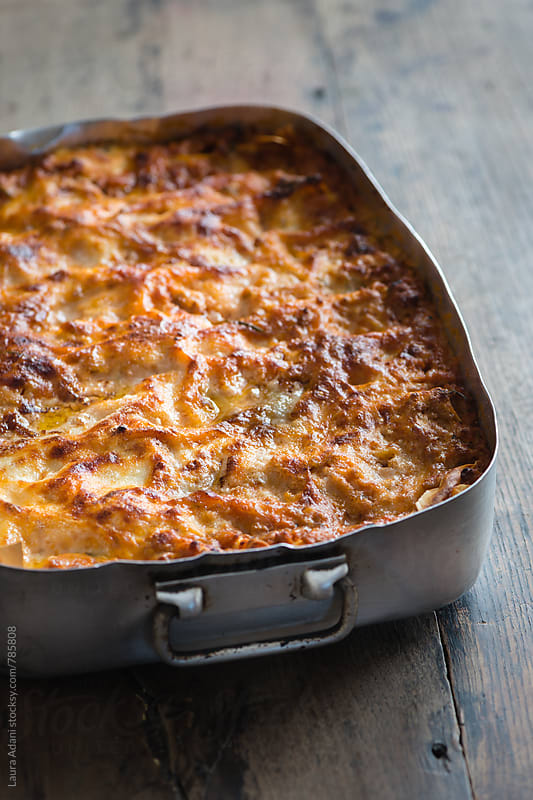 Lasagna alla bolognese by Laura Adani for Stocksy United