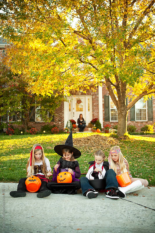 Halloween: American Tradition of Halloween in Fall by Sean Locke for Stocksy United
