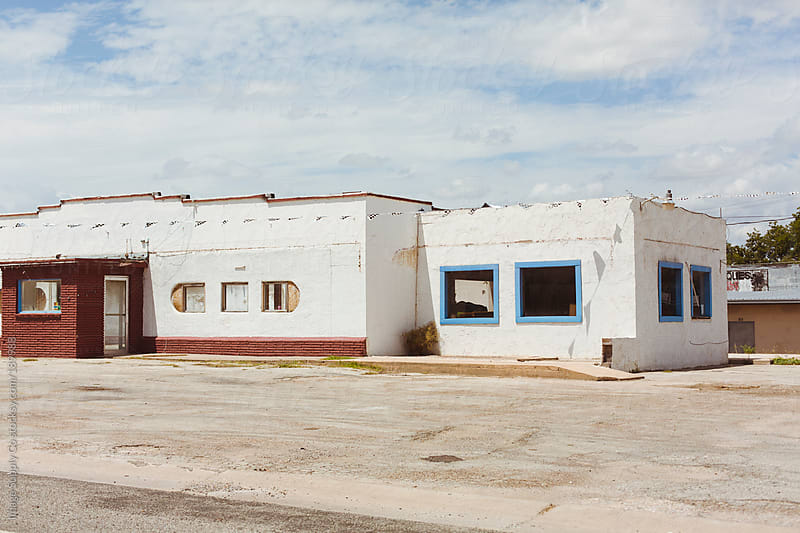 Abandoned building in Texas by Image Supply Co for Stocksy United