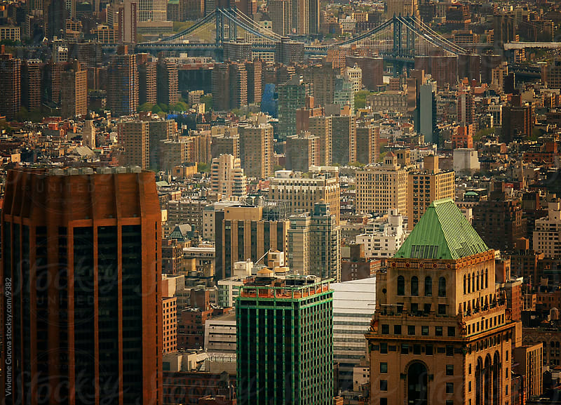 New York City Skyscrapers from Above by Vivienne Gucwa for Stocksy United
