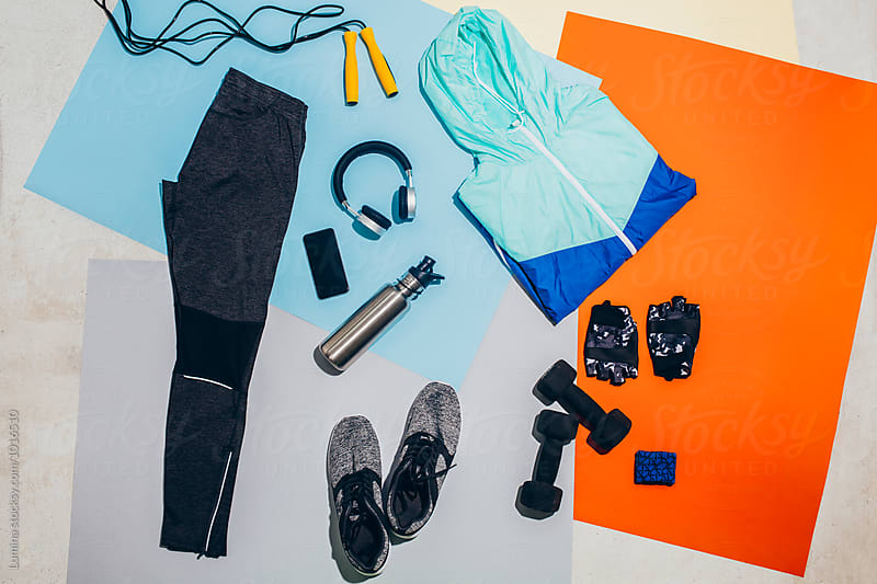 Man's Workout Outfit by Lumina for Stocksy United