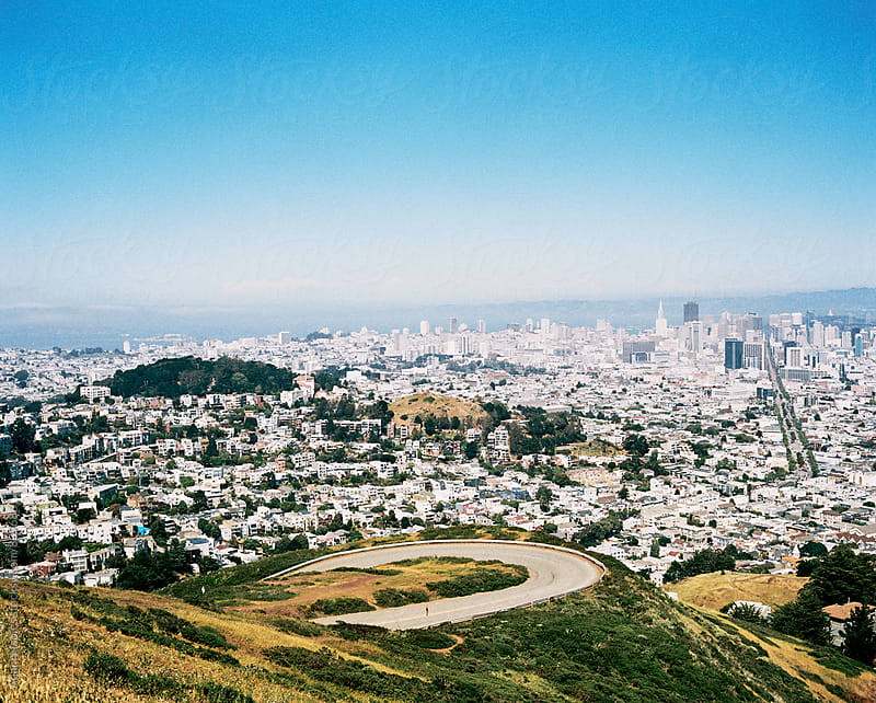 San Francisco Overlook by Adam Naples for Stocksy United