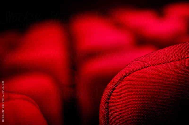 Movie theater - cinema seating by Helen Sotiriadis for Stocksy United