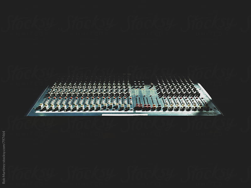 LONELY SOUNDBOARD by Rob Martinez for Stocksy United