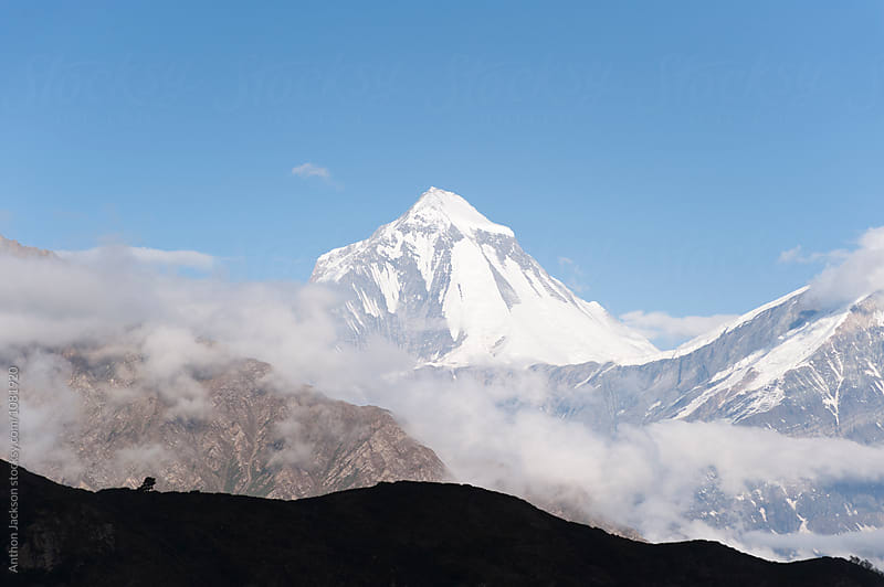 Dhaulagiri Peak by Anthon Jackson for Stocksy United