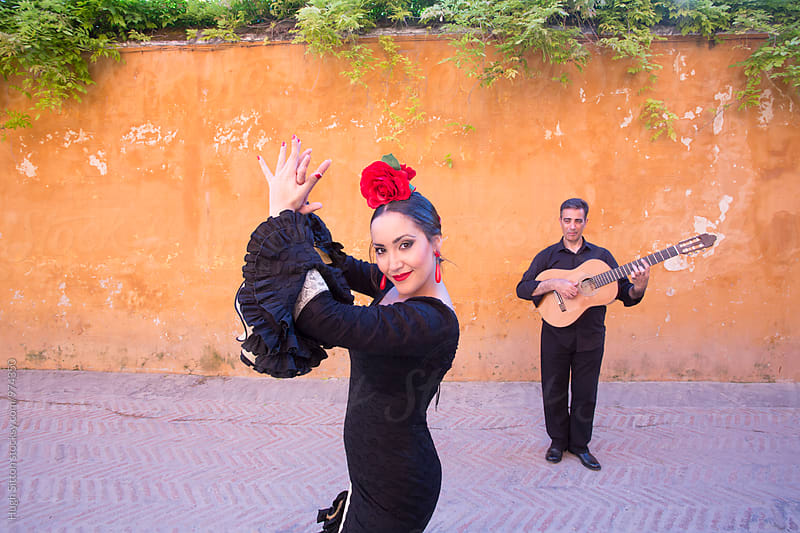 Flamenco Dancer. Spain. by Hugh Sitton for Stocksy United
