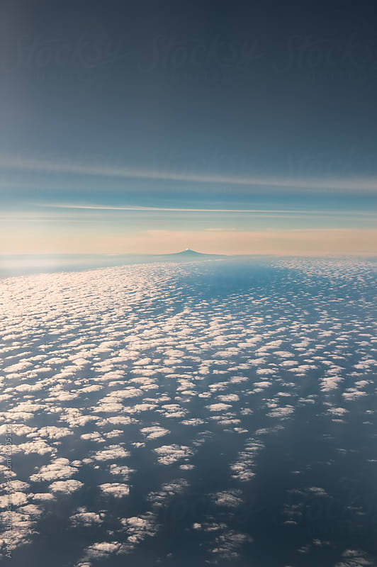 Mount Taranaki on the west coast of the North Island by Angela Lumsden for Stocksy United