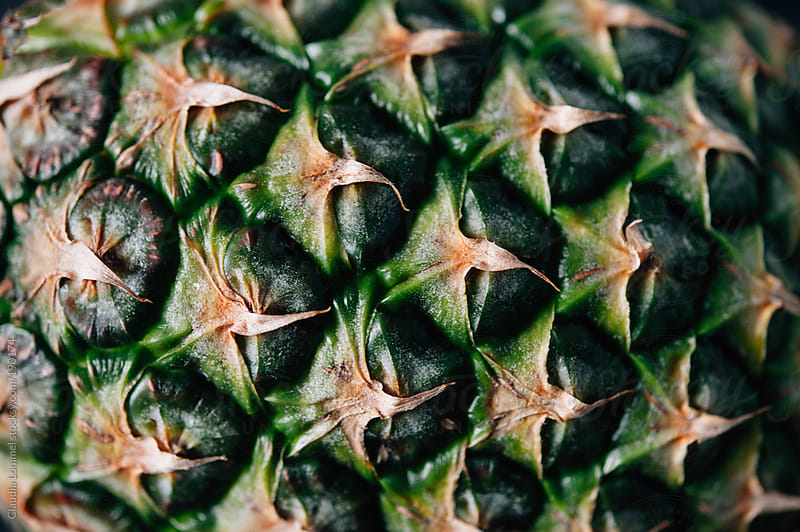 Surface of a Pineapple by Claudia Lommel for Stocksy United