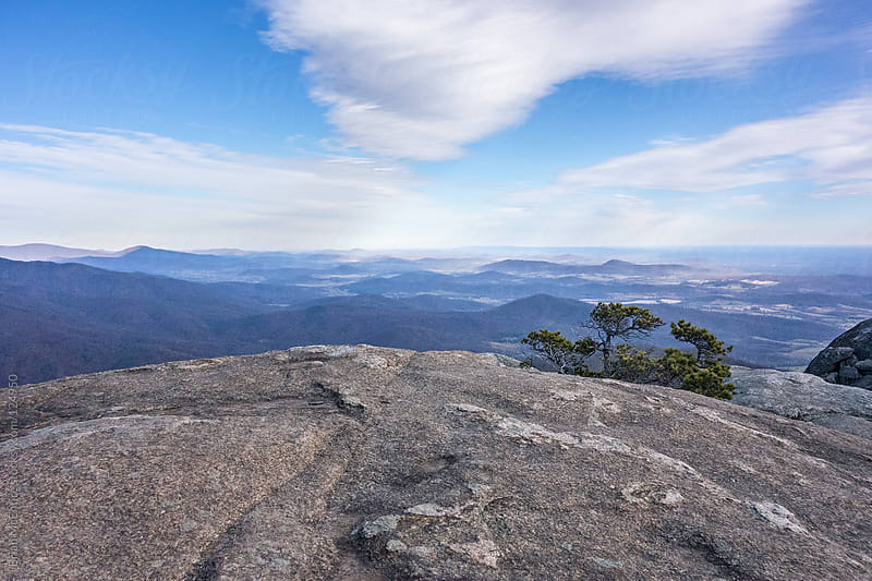 Mountain Top View from Old Rag Summit by Brian McEntire for Stocksy United