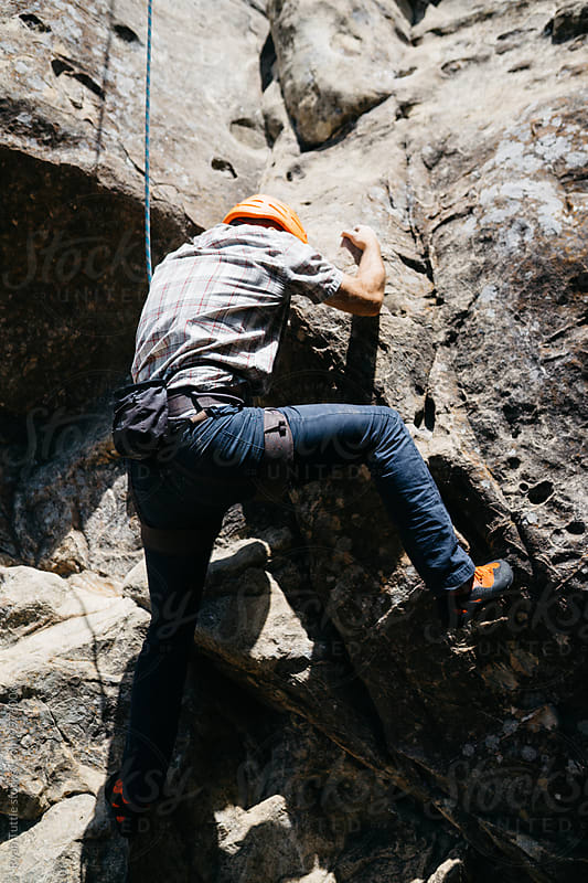 Santa Cruz Climbing by Ryan Tuttle for Stocksy United