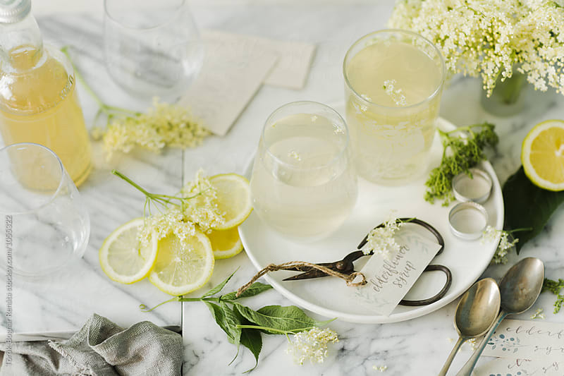 Elderflower syrup by Török-Bognár Renáta for Stocksy United