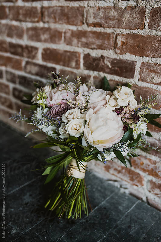 Flower Bouquet by Isaiah & Taylor Photography for Stocksy United