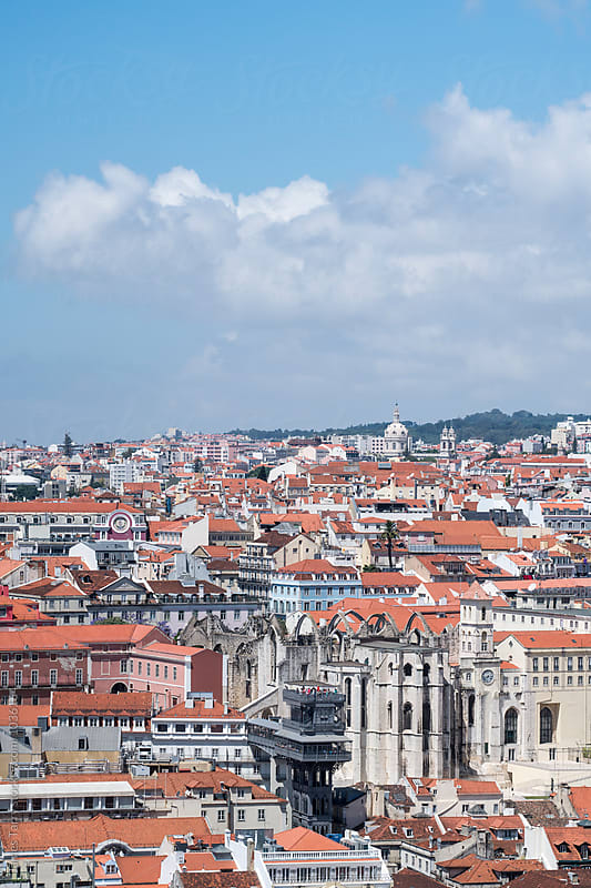 Lisbon city by James Tarry for Stocksy United