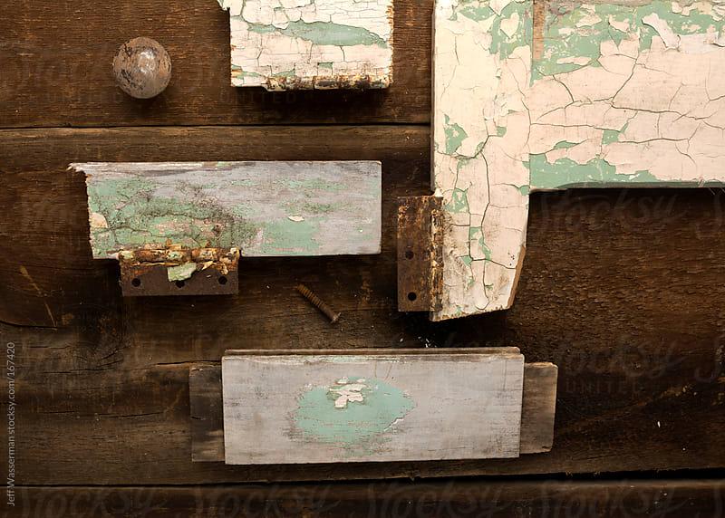 Vintage Door Parts fomr Above by Jeff Wasserman for Stocksy United