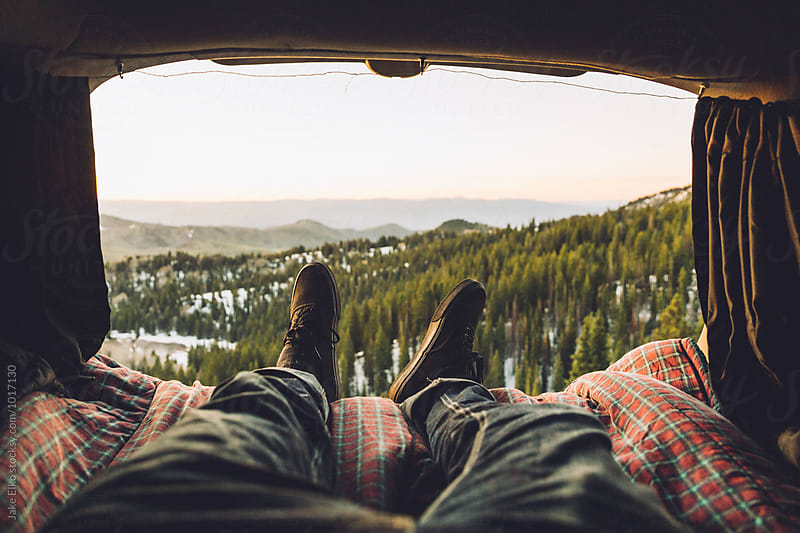Car Camping with Sunrise by Jake Elko for Stocksy United