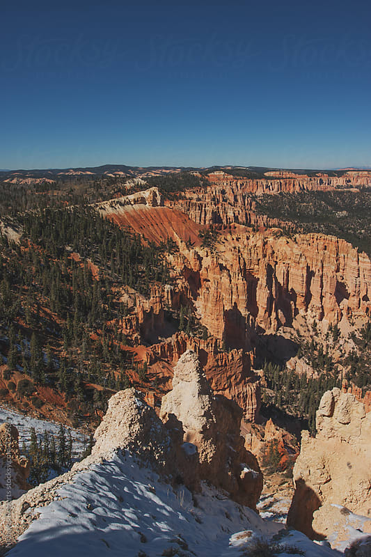 Bryce Point Lookout by Nicholas Roberts for Stocksy United