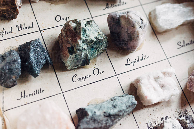 Various ore samples by Gabriel (Gabi) Bucataru for Stocksy United