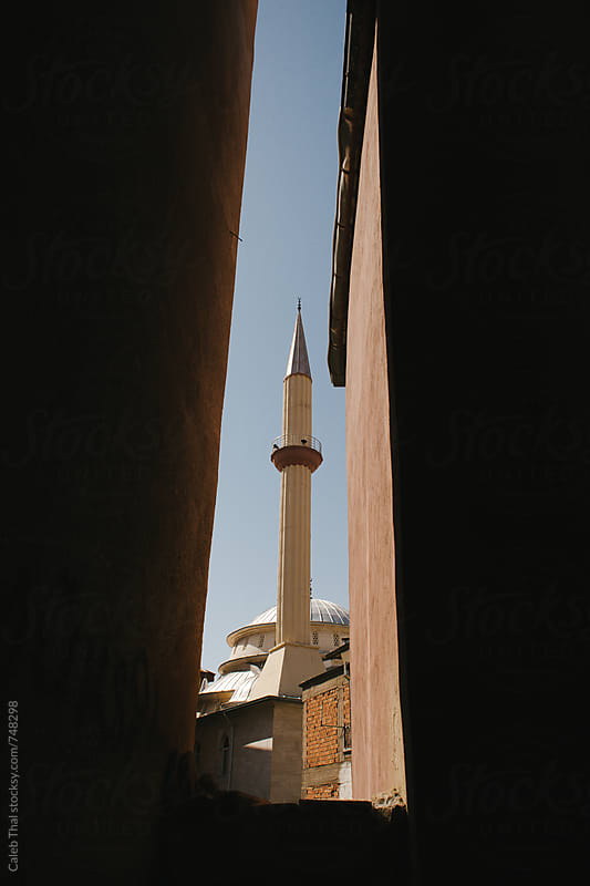 The Minaret of a Mosque by Caleb Thal for Stocksy United