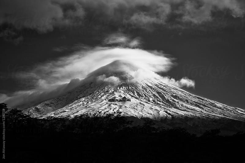Osorno Volcano by Jon Attaway for Stocksy United