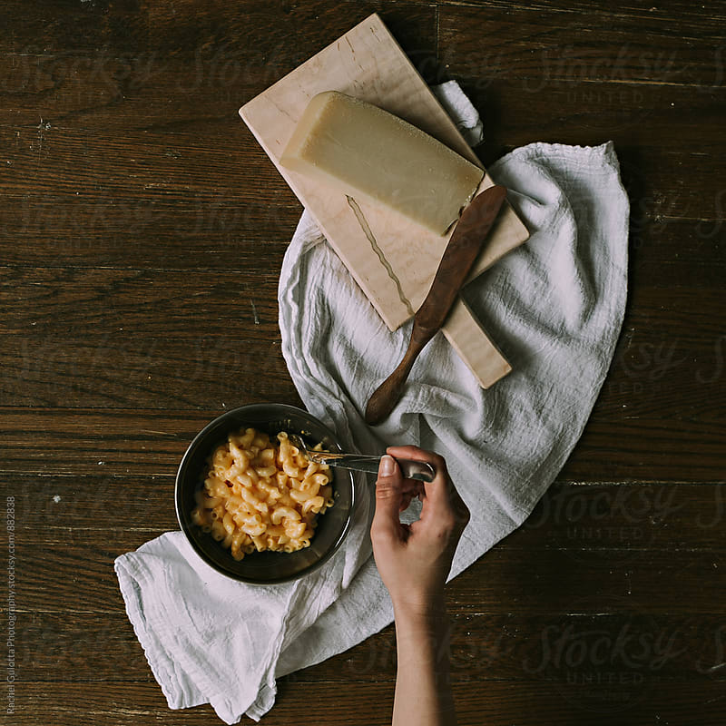 Macaroni and Cheese by Rachel Gulotta Photography for Stocksy United