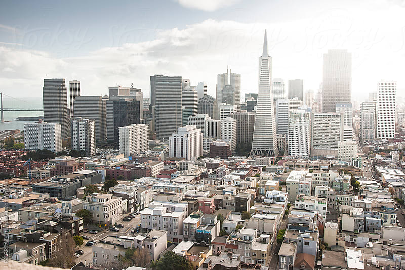 View of downtown San Francisco. by Robert Zaleski for Stocksy United