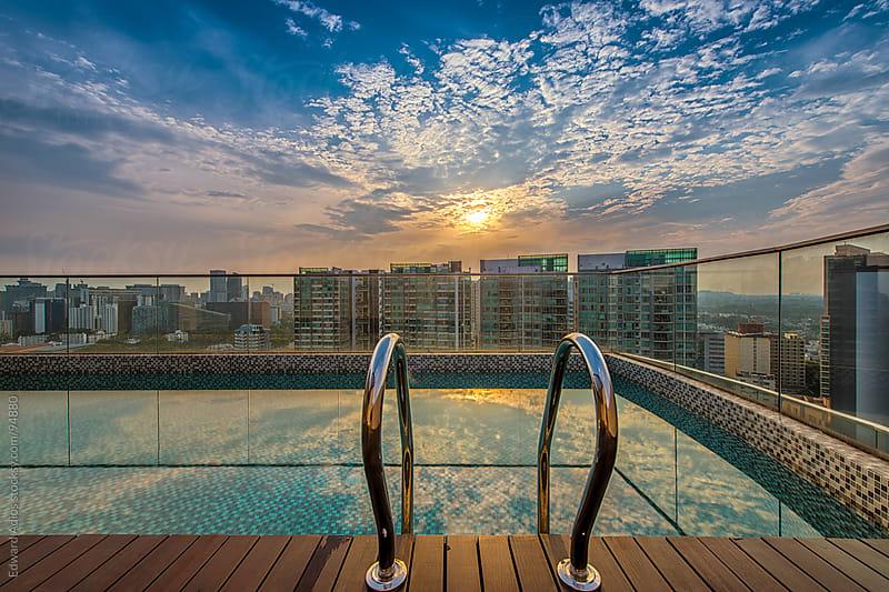 Sky Pool by Edward Adios for Stocksy United