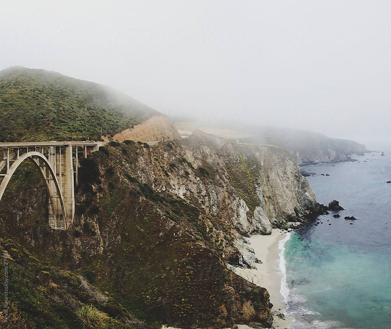 California Coast Bridge by Kevin Russ for Stocksy United