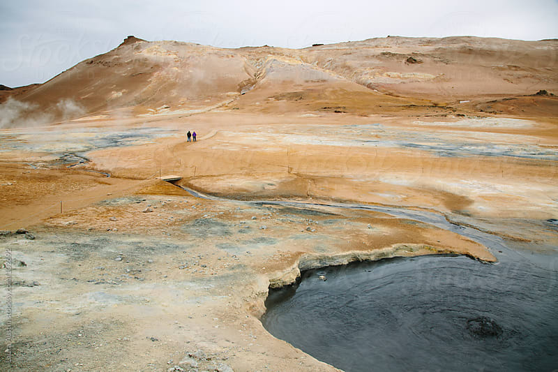Geothermal Iceland Landscape by Laura Austin for Stocksy United