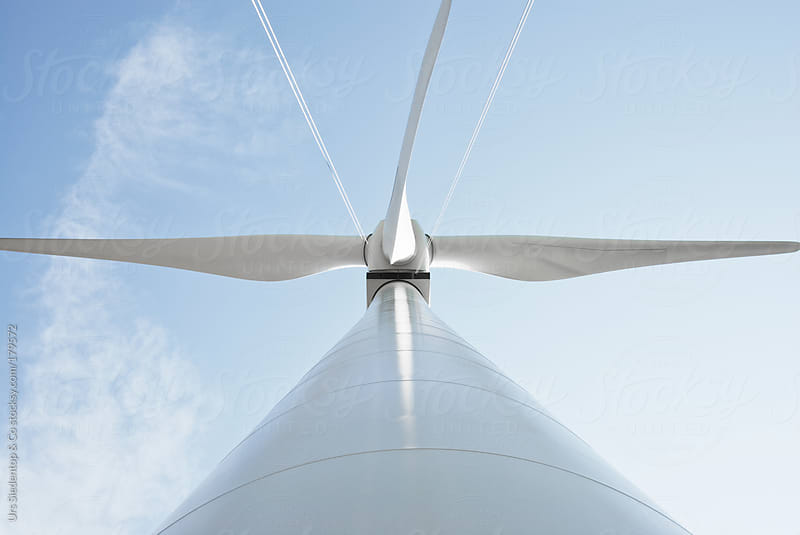 Wind Turbine Rotor by Urs Siedentop & Co for Stocksy United
