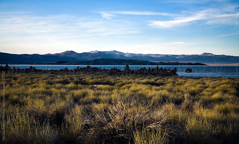 Mono Lake. by Nicolai Perjesi Photography for Stocksy United