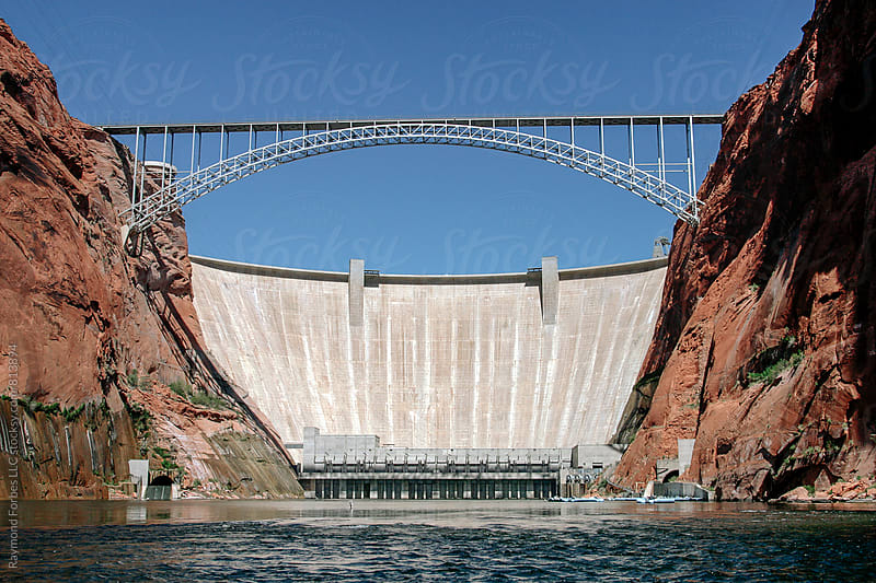Arizona Glen Canyon Dam by Raymond Forbes LLC for Stocksy United