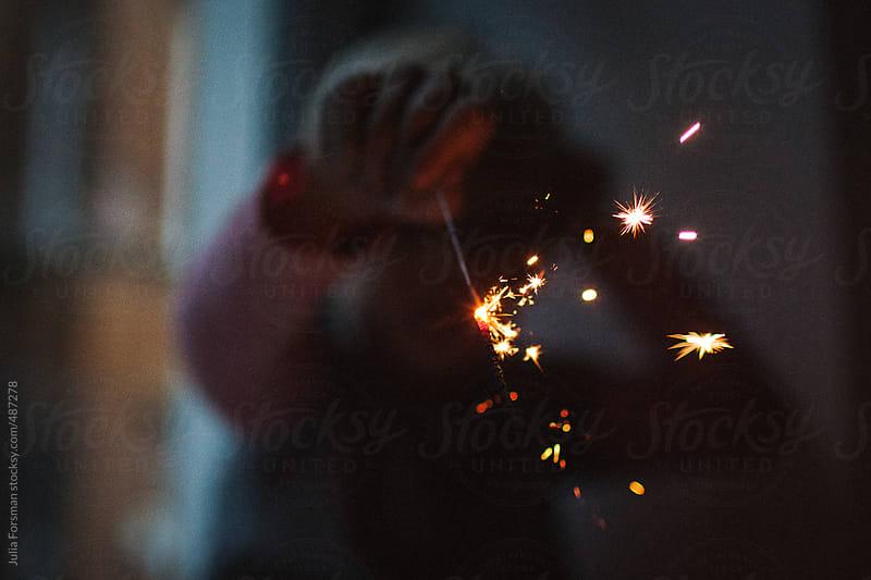 Sparkler by Julia Forsman for Stocksy United