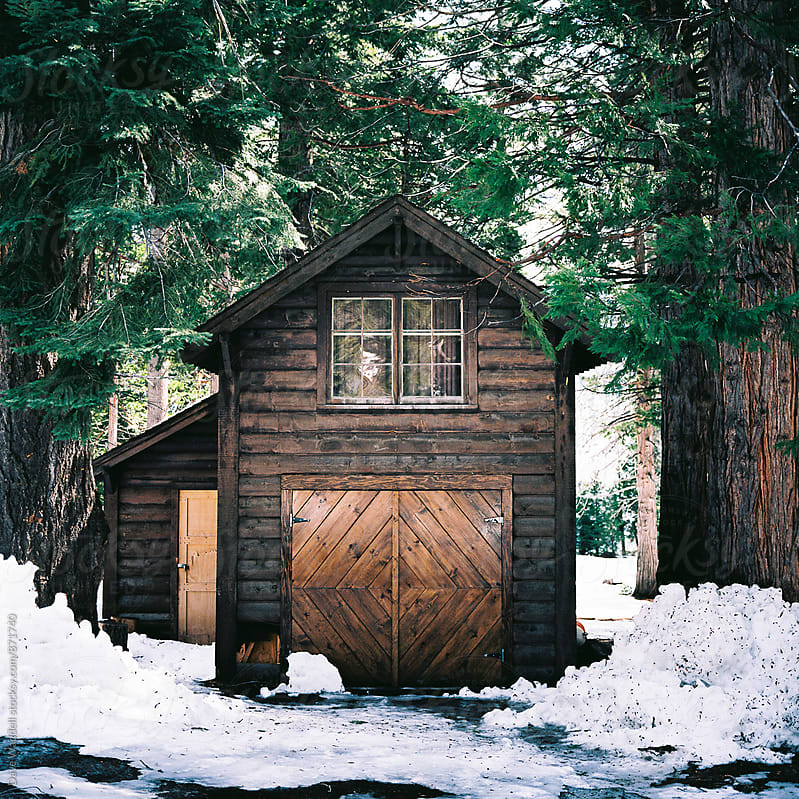 Cabin on Lake Tahoe by Dave Waddell for Stocksy United