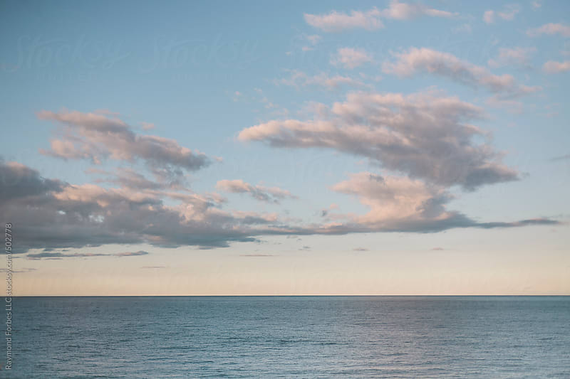 Clouds over Cape Cod Bay Massachusetts by Raymond Forbes LLC for Stocksy United