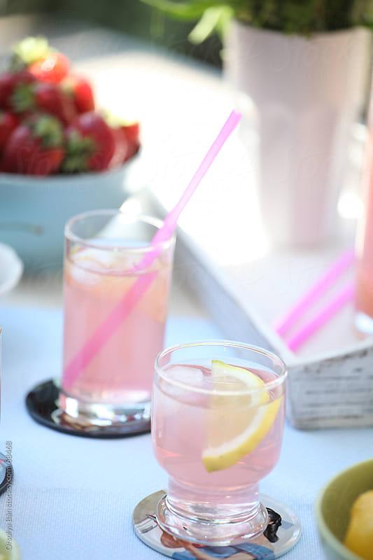 Pink lemonade by Orsolya Bán for Stocksy United