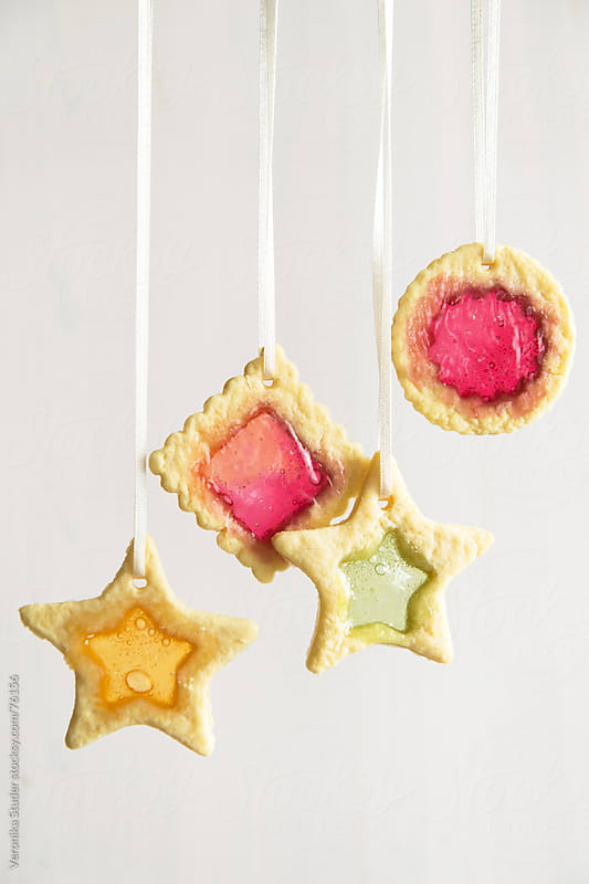 Cookie ornaments by Veronika Studer for Stocksy United