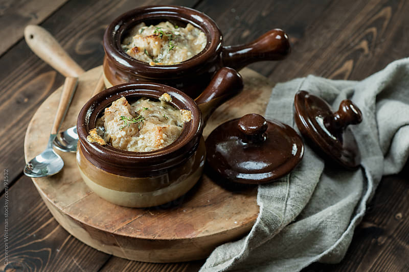 French Onion Soup by Cameron Whitman for Stocksy United