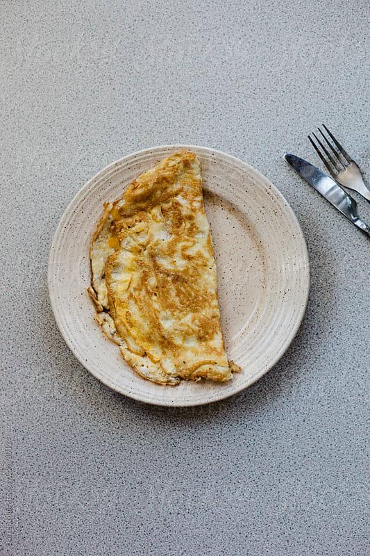 Omelette. by Darren Muir for Stocksy United