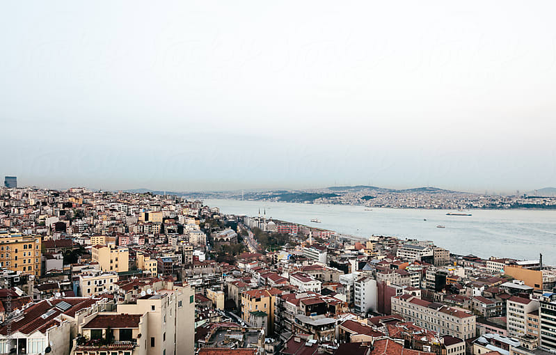 Istanbul at Dusk by Agencia for Stocksy United