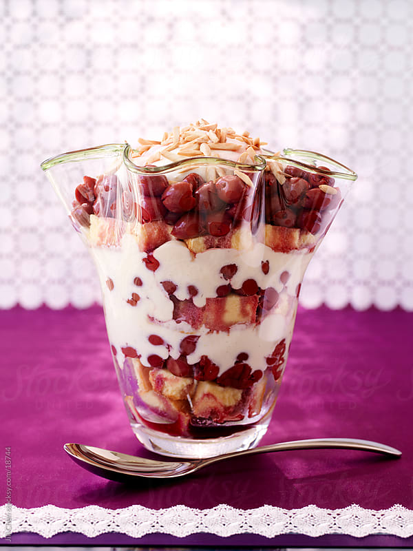 Cherry Trifle by Jill Chen for Stocksy United