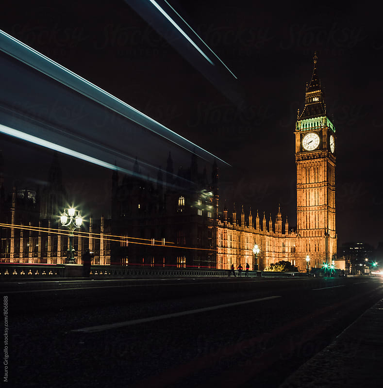 Houses of Parliament, Big Ben. London. by Mauro Grigollo for Stocksy United