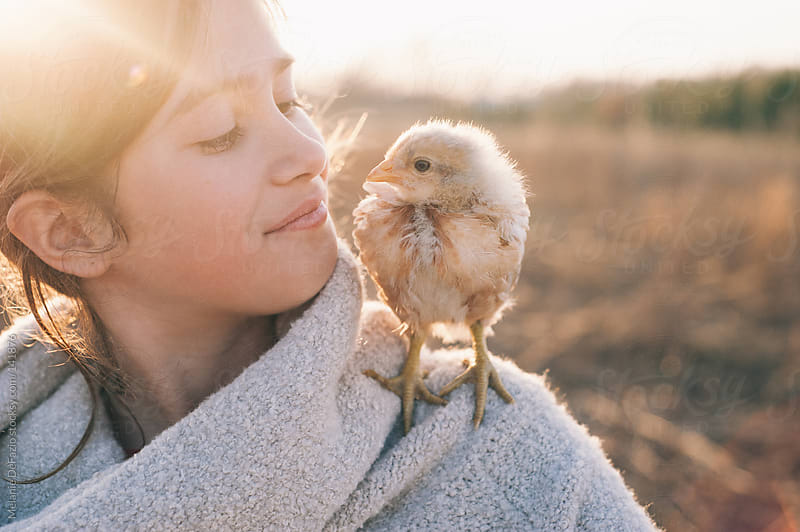 chick love by Melanie DeFazio for Stocksy United