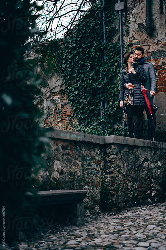 Young Fashionable Lovers Flirting by HEX. for Stocksy United
