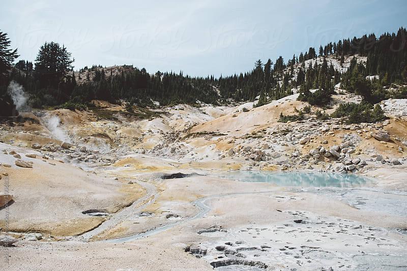 Volcanic landscape by Jacki Potorke for Stocksy United