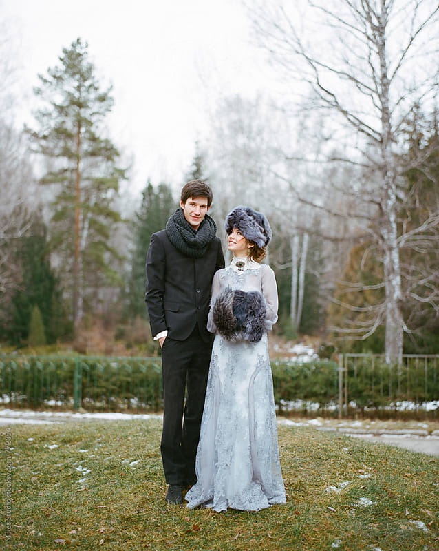 Young couple outdoors by Milles Studio for Stocksy United